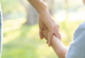 Parent Holding Hands With Child
